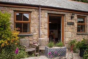 Nine Maidens Cottage Entrance